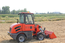 ER08 cheap farm mini tractor/mini loader 27HP 4WD with spare parts for sale