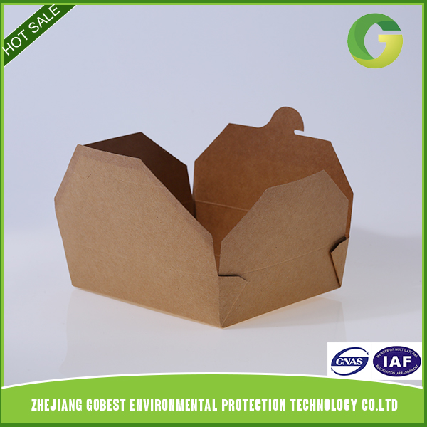 Factory Directly Provide Best Sales Kraft Paper Lunch Box
