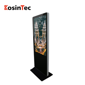 2018 New Arrival wifi bt 55inch 1080p screen advertising player