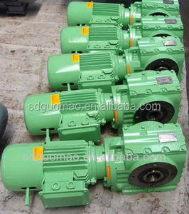 K Series 90 Degree Helical Bevel Gear Motor