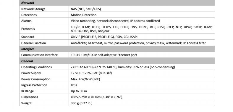 Original English Firmware Hikvision 1080P 2MP IP Turret Camera  DS-2CD1321-I, View Hikvision 1080P , Hikvision Product Details from  Shenzhen Esee CCTV