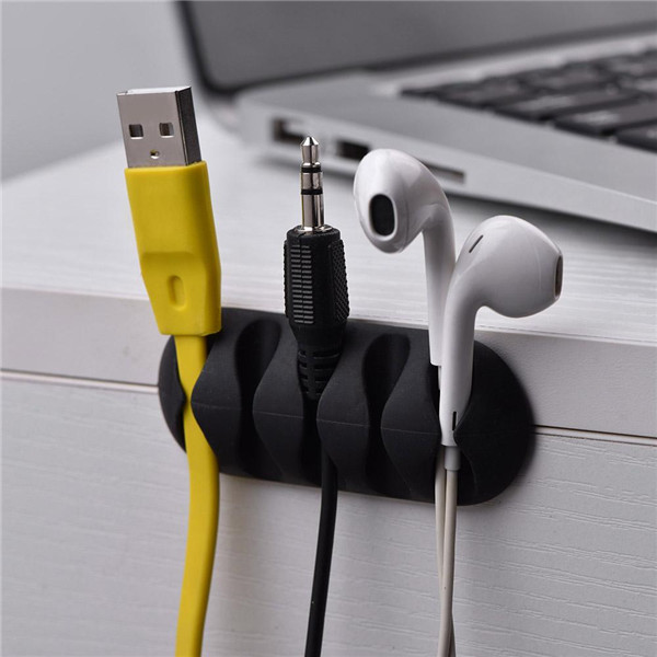 Cable Winder Honest Universal Clip Phone Cable Winder Clamp Earphone Organizer Usb Charger Wire Cord Pen Desk Holder Data Line Tidy Management