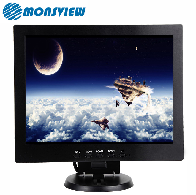 CCTV Security 12 inch LCD Screen TFT Color Monitor