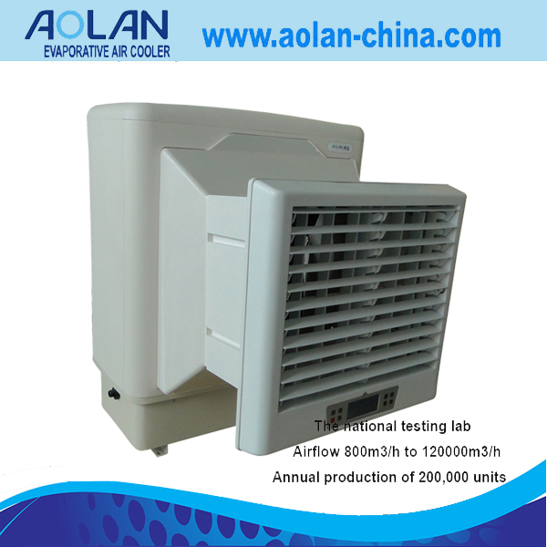 airflow 6000m3/h cheap remote control mini window air conditioner