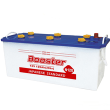 super start lead acid 12V dry charged automobile battery for tank and truck n120 supplies