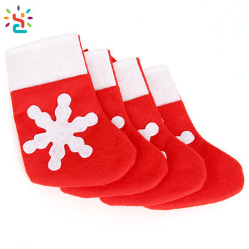 customized red cotton velvet christmas stocking christmas decorations large christmas stocking - Large Christmas Stockings