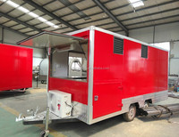 Food Catering Trailer/mobile Kitchen Truck For Sale