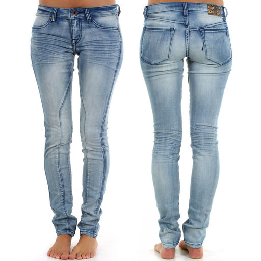 Ladies Sexy Skin Tight Denim Jeans Various Colors - Buy Ladies ...