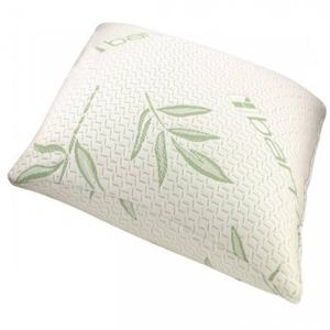 Cheap Wholesale high quality bamboo fiber bed rest pillow cooling shredded foam bamboo pillow