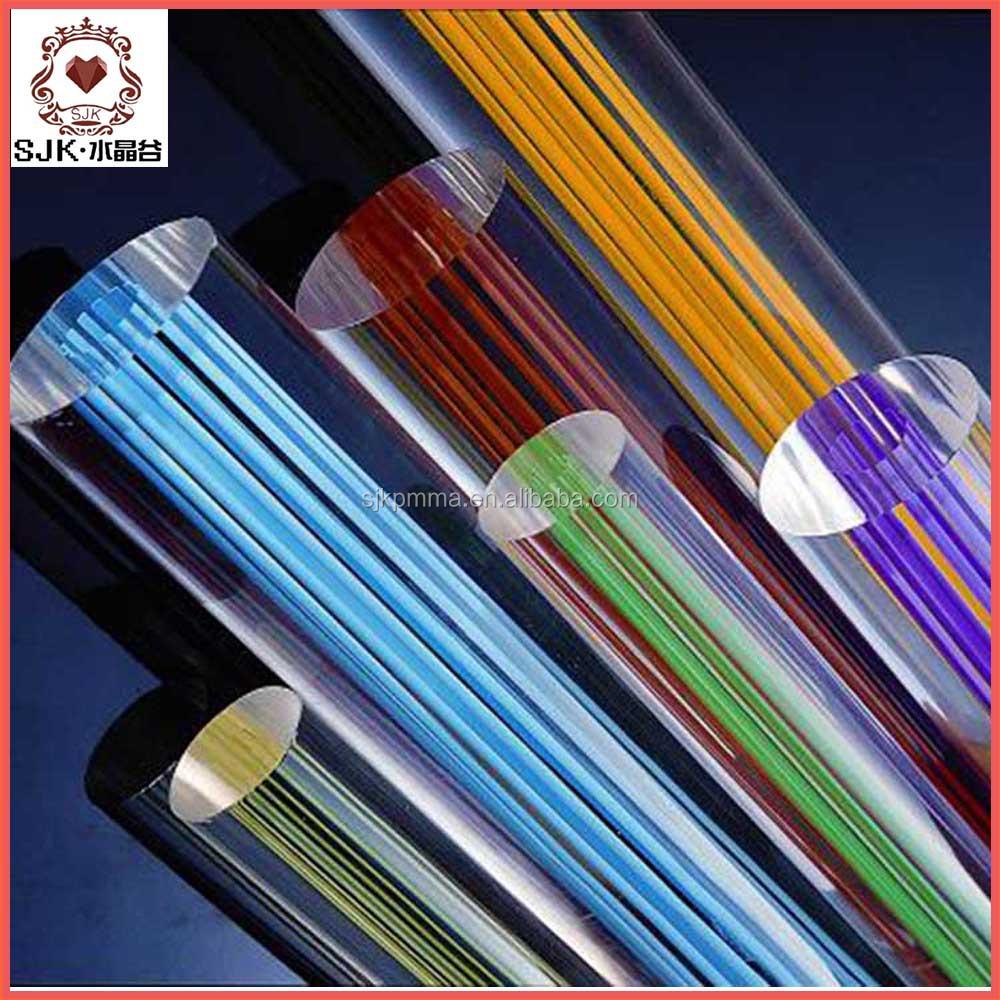 Acrylic curtain rod - Acrylic Curtain Rod 36