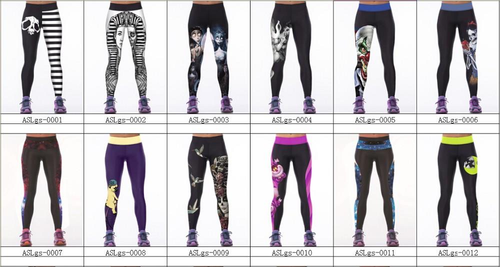 5dcc38b1f NEW 084 Sexy Girl Leggins Vintage Suicide Squad Harley Quinn 3D Prints  Elastic High Waist Workout ...