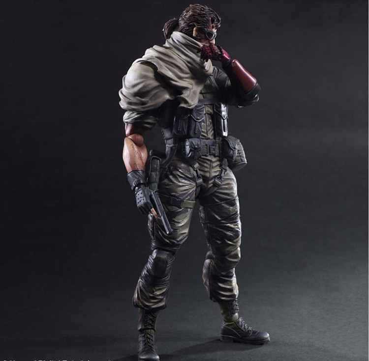 2018 Toy Gift Box Play Arts Kai Solidus Snake Metal Gear Solid Ground  Zeroes Pa 27cm Pvc Action Figure Doll Toys Kids Gift Brinquedos From  Toy_888,
