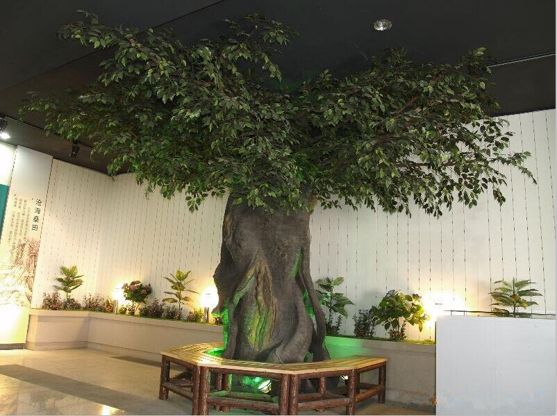 2014 Sj At084 Indoor Artificial Banyan Tree For Landscape Project ...