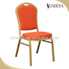 Modern stacking hotel chair restaurant aluminum stacking banquet chair