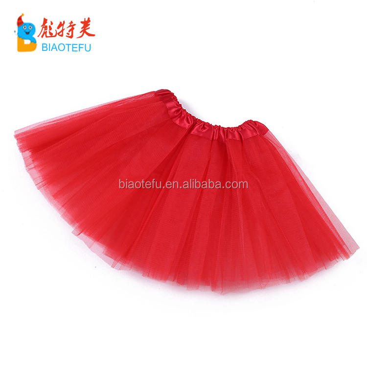 cheap ballet tulle puffy tutu skirt kids dress