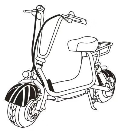 Wholesale Electric Mini Scooter