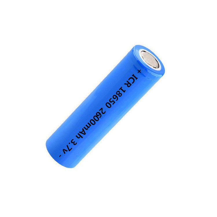 Hot sale cylindrical 3.7V2600mAh18650 rechargeable li-ion battery