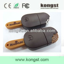 Sweet chocolate usb flash memory stick/new stylish chocolate usb pen drive/usb chocolates drives bulk cheap