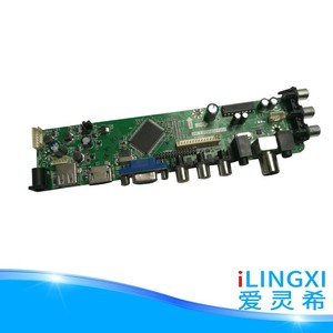 Full HD lcd led tv spare parts V59 Universal Driver Board