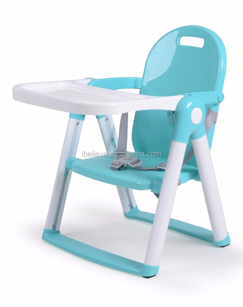 3ed602de4b28 Folding Portable Highchair Booster Seat Feeding High Chair for Baby Child Dining  Eating Chair Multifunctional Children Table