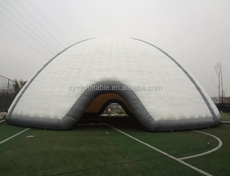 Giant inflatable sport dome for sport games