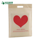 ultrasonic sealing die cut polyurethane shopping bags with custom logo printed