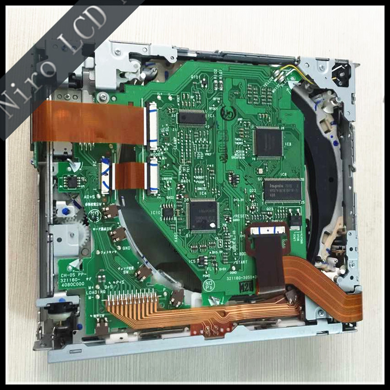 Brand New Original Fujitsu Four-disc CD Movement CH-05-412 CD Mechanism For Toyota Camry Sienna Tundra Sequoia Changer Player