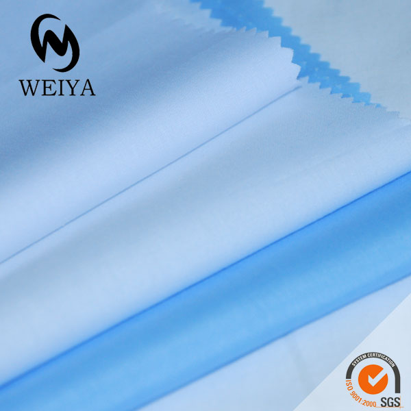 tc 65/35 solid dyeing poplin fabric