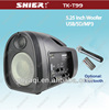 SHIER TK-T99 fm radio usb sd card reader speaker for teacher