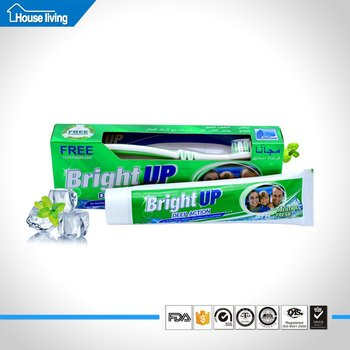 Toothbrush Toothpaste Guangdong Oem Private Label Transpa 3 Color Arabic Day And Night Peppermint