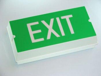 emergency light led exit sign