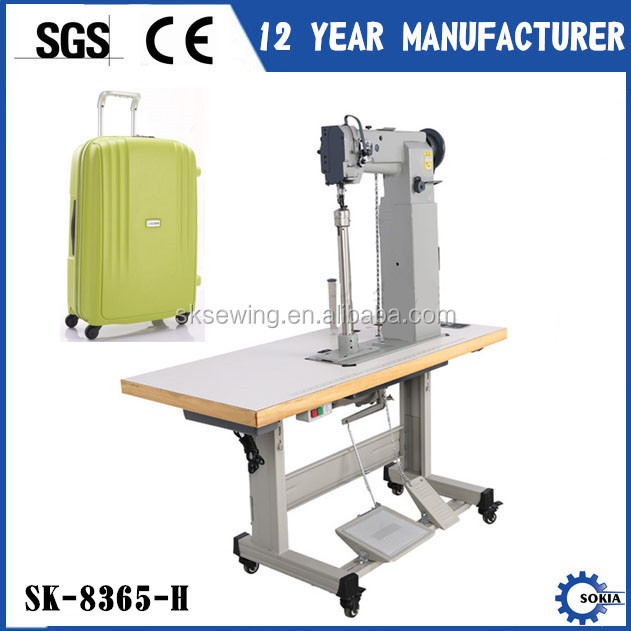Heavy duty backpack bags boot post bed industrial sewing machine for lugagge