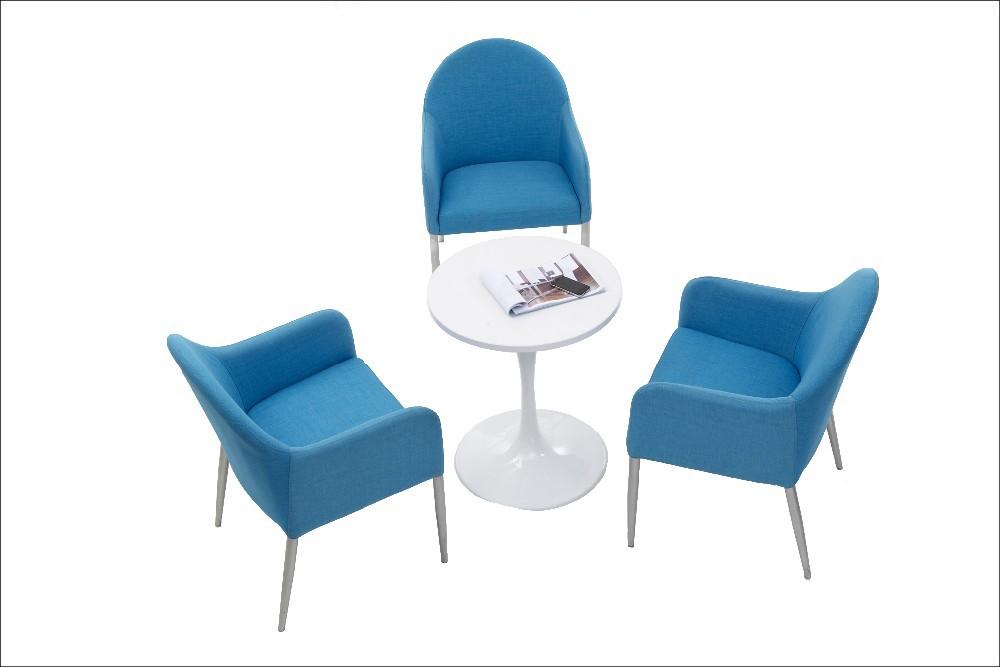 Kleurrijke comfortabele eetkamer meubilair modern design lage rug stof eetkamerstoel - Meubilair loungeeetkamer ...
