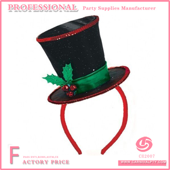Diva Christmas Mini Top Hat Fascinator Party Headband top hat mini hat  headband 248a9625d3a