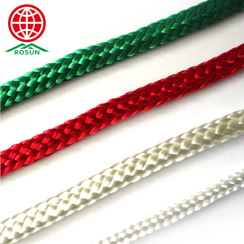 Chinese well-known supplier 16mm plastic coated nylon flat rope