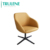 Modern colorful Metal Reclining Fabric Leisure Chair Office Coffee Shop Restaurant Chair