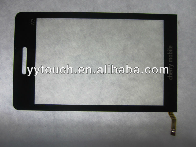 Touch screen for china mobile phones with W7 cherry mobile phones