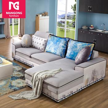 Diseño Simple Muebles Para El Hogar Nuevo Sofá Diseños En Forma De L ...