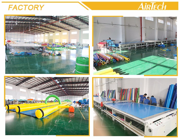 China's factory custom inflatable floating water park/inflatable water park
