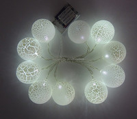 10 led Solar Powered Led String Light #L Lamp Garden Home Christmas Party Decoration ball led light