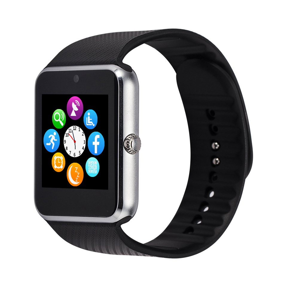 Popular Smart watch sim phone, blue-tooth smartwatch gt08 for smartphone фото