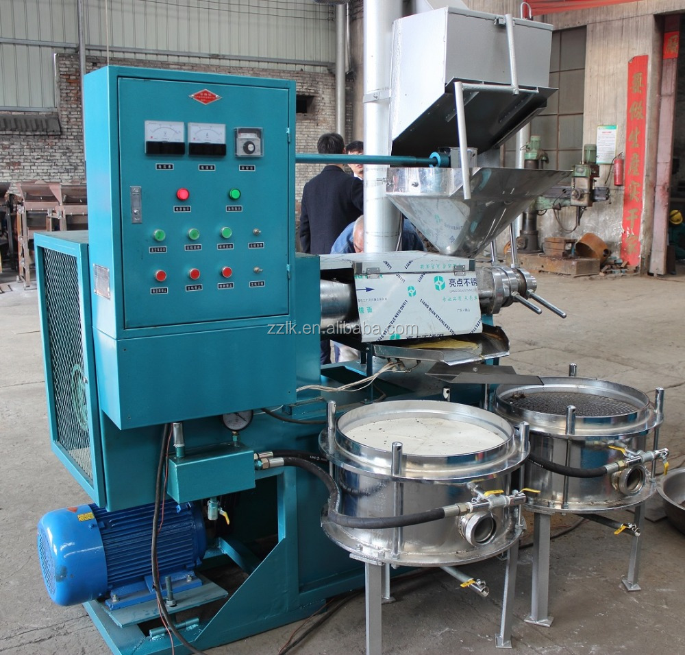 LK120 olive cold oil making machine/automatic peanut oil press machine/avocado oil mill prices
