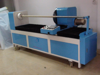 Auto Fabric strip cutting and rolling machine for textile, leather industry
