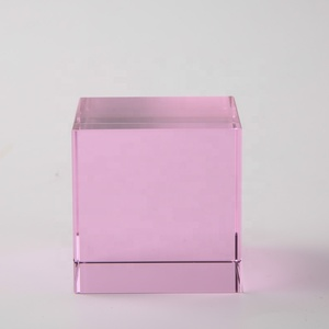 Top selling blank glass block paperweights wholesale