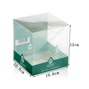 Electric Oil Burner Clear Plastic Packaging Box