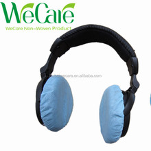 2018 NEW Disposable Non woven Hygienic Blue Sanitary earphone cover