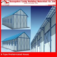 for office easy assembled light guage steel frame other real estates
