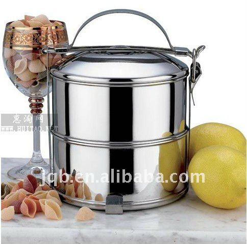 Special Two layers stainless steel Lunch Box/hand pot