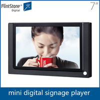 small digital advertising display board,indoor advertising media display 7 inch Flintstone
