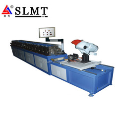 alibaba express automatic Air conditioning mate duct Transverse Flange TDC sheet metal flanging Forming Machine